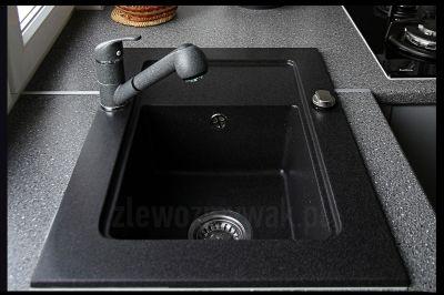 Dobry zlewozmywak granitowy Nubiru do małej kuchni