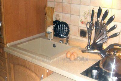 Zlew jednokomorowy Argo do małej kuchni