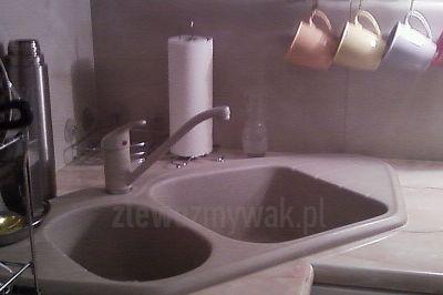 Zlew kuchenny narożnikowy ZGR-03