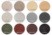 Narożny zlewozmywak granitowy ZGR-03 - kolory